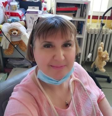 Prim. Dr Zagorka Vidović, specijalista pedijatar