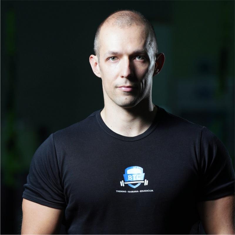 Džemal Gekić, profesor sporta i fitnes trenera
