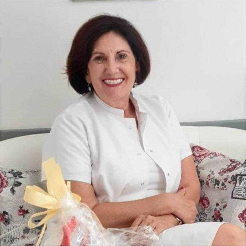 Prof.dr.med.sci Fahrija Skokić, primarijus, spec. pedijatar, subspec. neonatolog